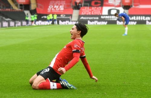 Southampton [1] - 0 Chelsea - Takumi Minamino goal