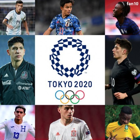 The 16 teams that qualified for the Tokyo Olympics