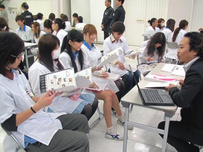 2011サロン就職説明会01