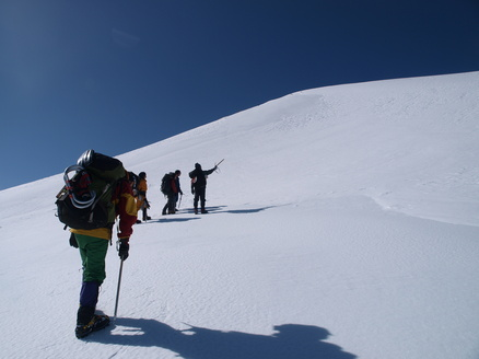 南アルプス・雪の仙丈ヶ岳へ!