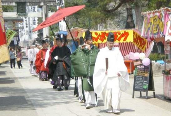 松岬神社例大祭