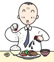 Manger avec excès, La salinité est excessive, La calorie est excessive