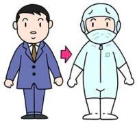 Воздушный душ ・ Чистая комната ・ Чистая одежда