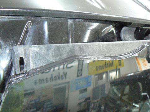 スマート リアガラス雨漏れ修理