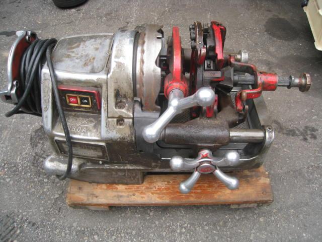 中古工具の買取販売ショップ マシンMUGEN レッキス パイプマシンねじ切り機 N80AⅢ 中古電動工具 中古工具買取