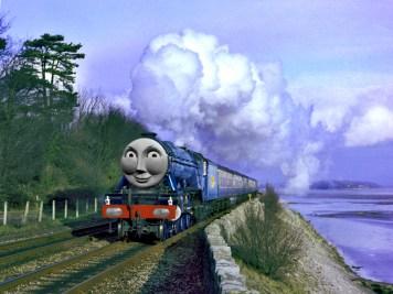 「蒸気機関車 トーマス マンガ」の画像検索結果