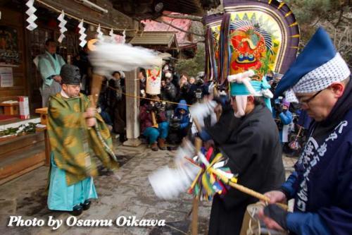 八戸えんぶり 2012 長者山新羅神社