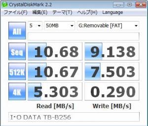 I・O DATA TB-B256 ベンチ