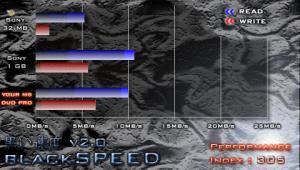 blackSPEED - CR-5400 SANDISK microSDHC 8GBx2