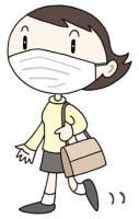 新型流行性感冒 飞沫传播 感染对策 感染预防 面罩穿着