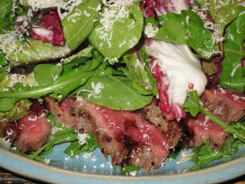 牛肉のカルパッチョ2