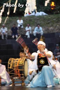 第16回かがり火コンサート 松前神楽 神遊舞