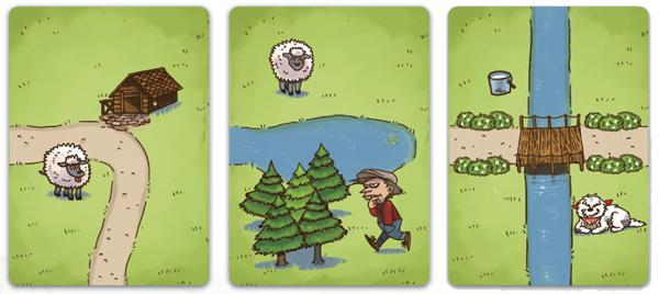 草原カード