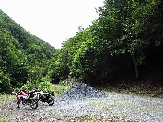 中津川林道 4