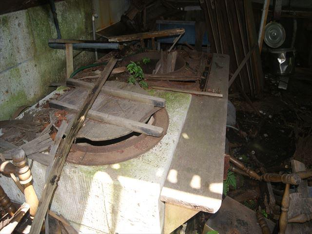 заброшенная столовая