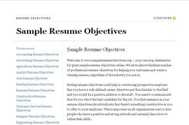 resume example objective shooting for goal management resume example objectives