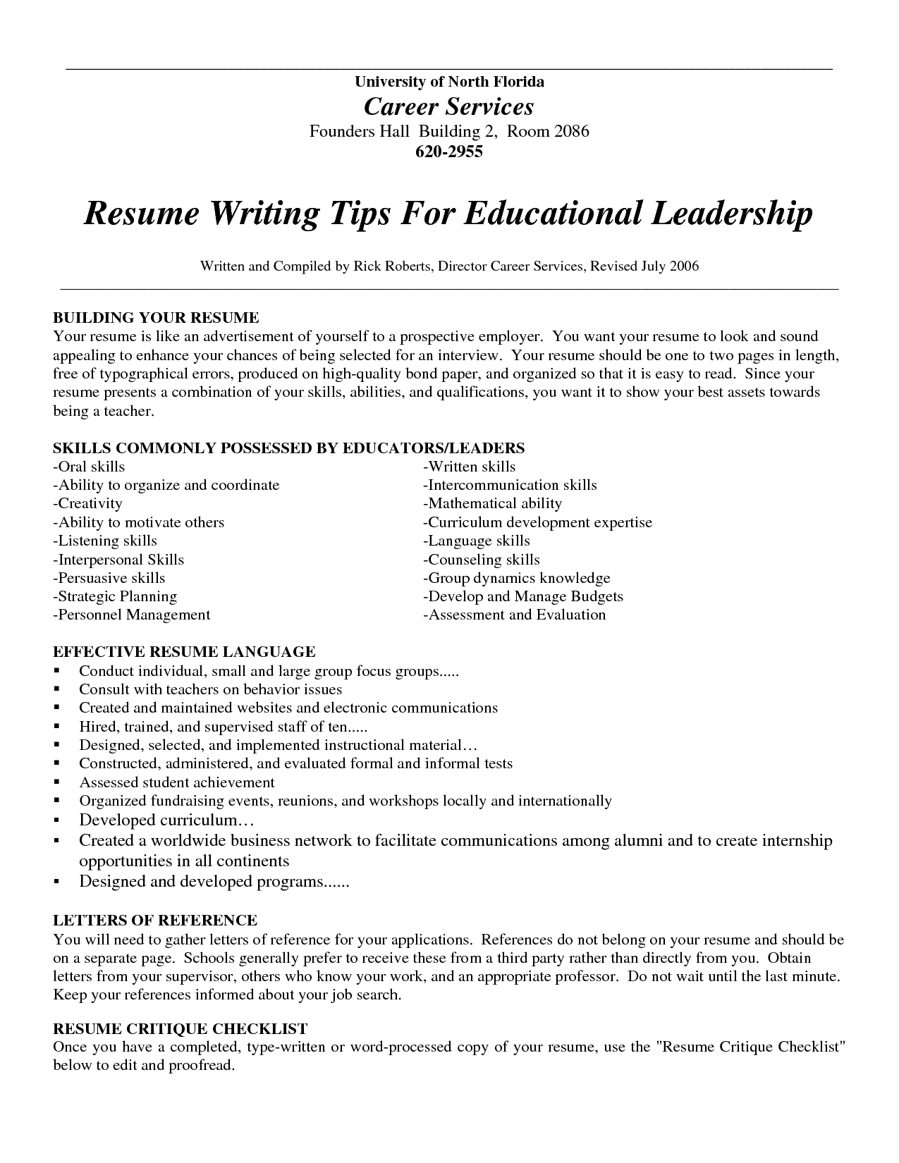 Resume Writing Services Top