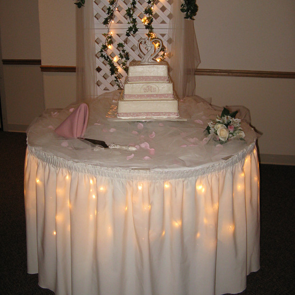 Top Wedding Cake Table Decorations