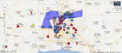 Thaiflood Bangkok - Google マップ