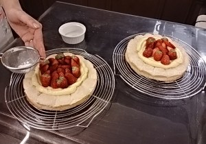 4月ケーキ教室の様子