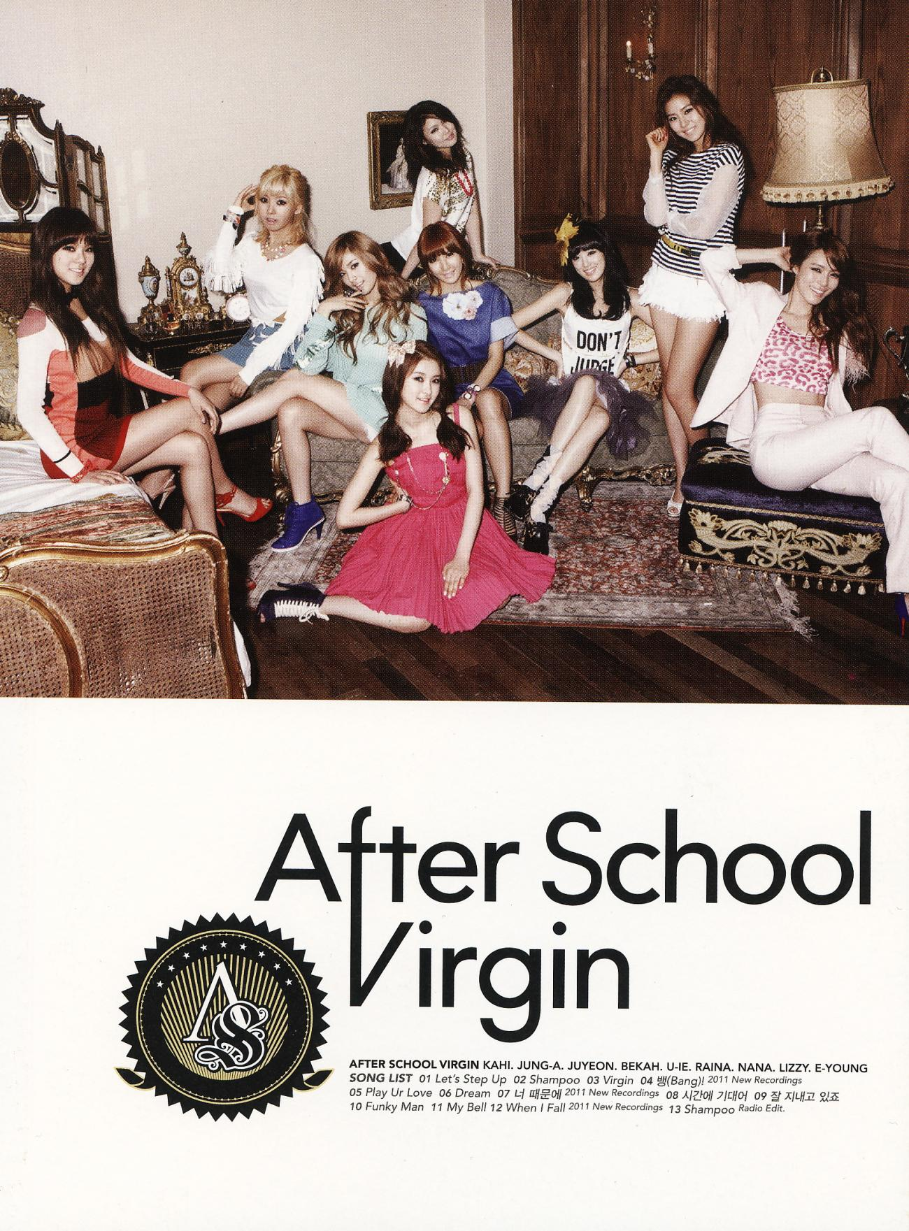 Image result for after school virgin album