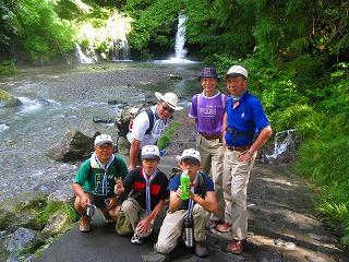 陣場の滝ハイキング