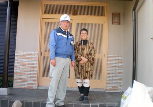 大津市M様邸塀・キッチン・リビングリフォーム の施工状況紹介【施工事例】