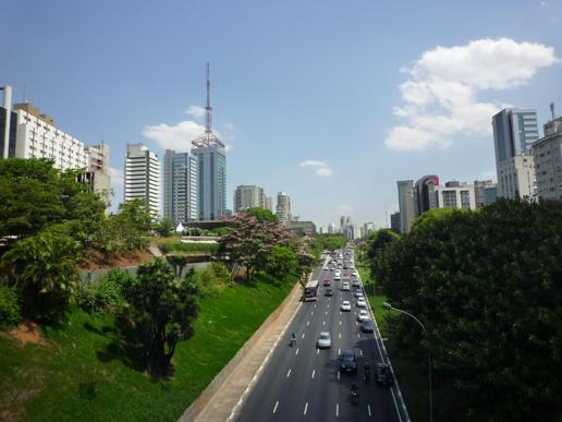 サンパウロの街並は日本みたい大阪?名古屋?はたまた東京??