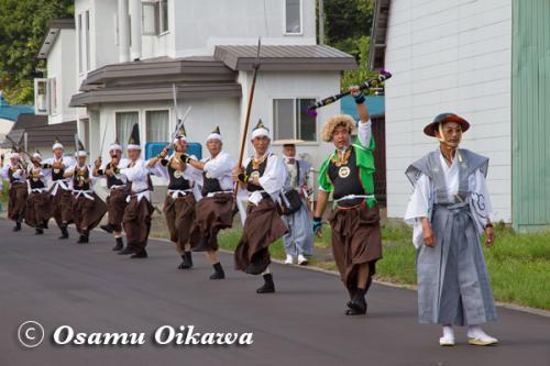 福島大神宮渡御祭 四箇散米行列 2012
