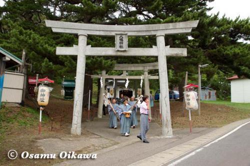 上ノ国町 石崎八幡神社 行列