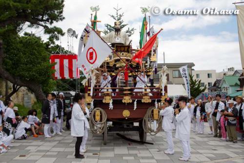 姥神大神宮渡御祭 2012 下町巡幸 豊栄山