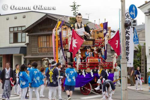 姥神大神宮渡御祭 2012 下町巡幸 源氏山