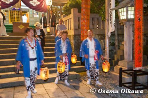 姥神大神宮渡御祭 2012 上町巡幸 最後の御詣り