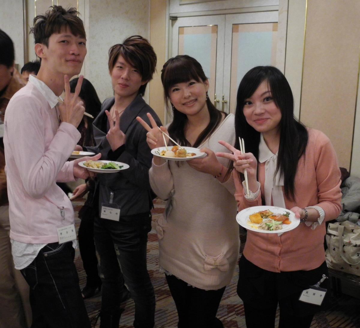 日台若手交流会  2011年 日台若手交流会 大忘年会 in 名古屋 (11/26)