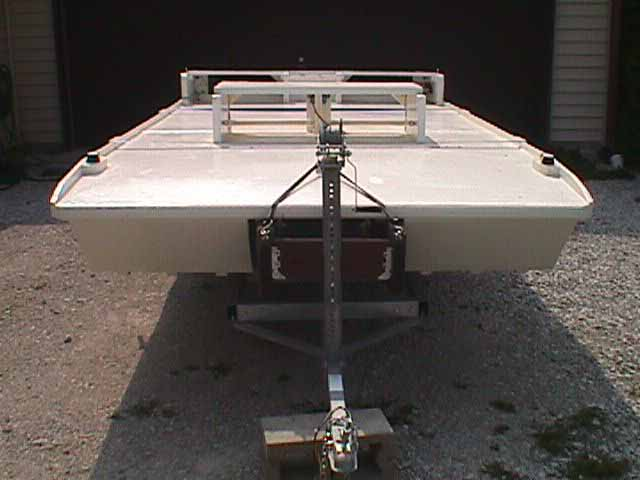 Homemade Barrel Boat Pontoon Plans - 0425