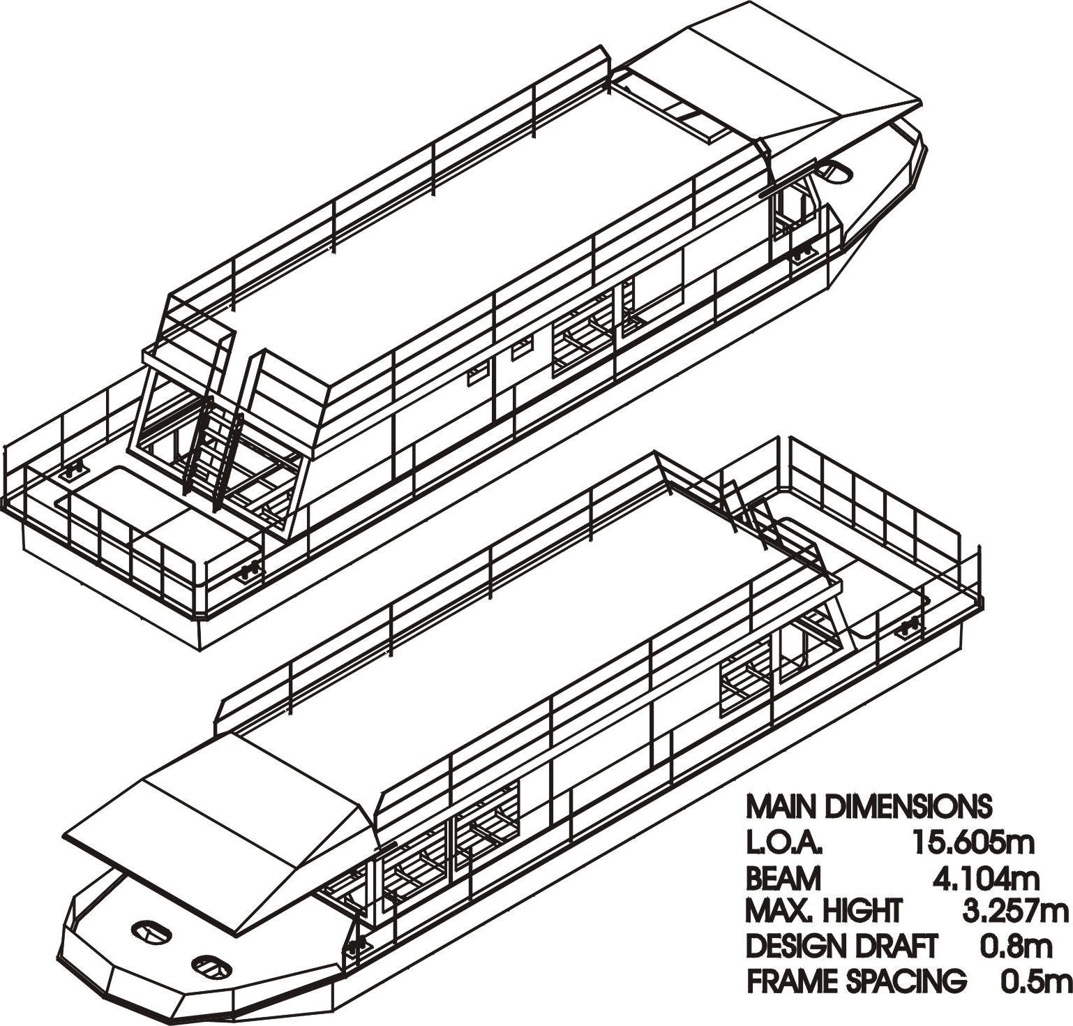 Houseboat Construction Plans