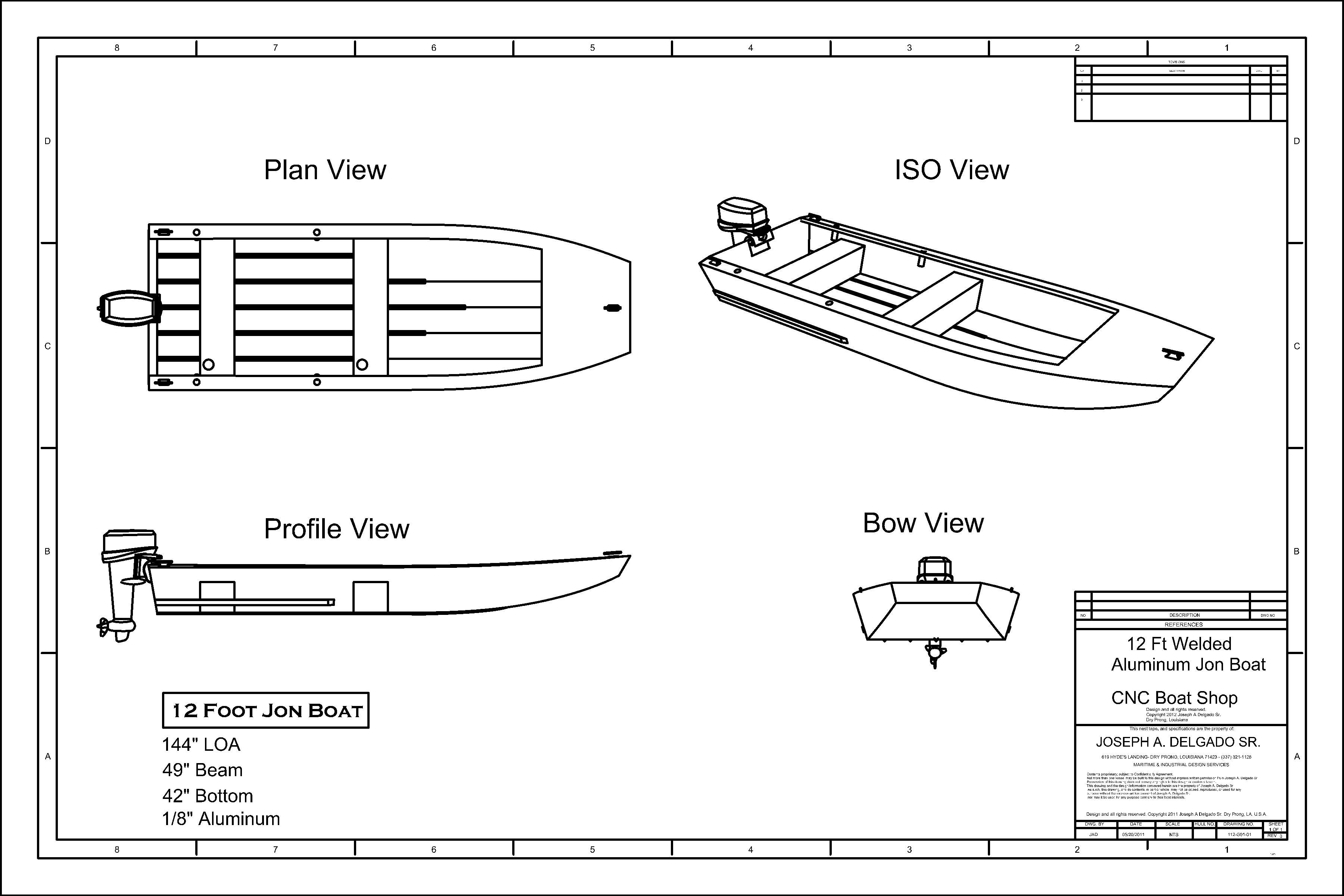 A Jon Boat Plan Getting The Best Out Of Your Boat Plans Vocujigibo