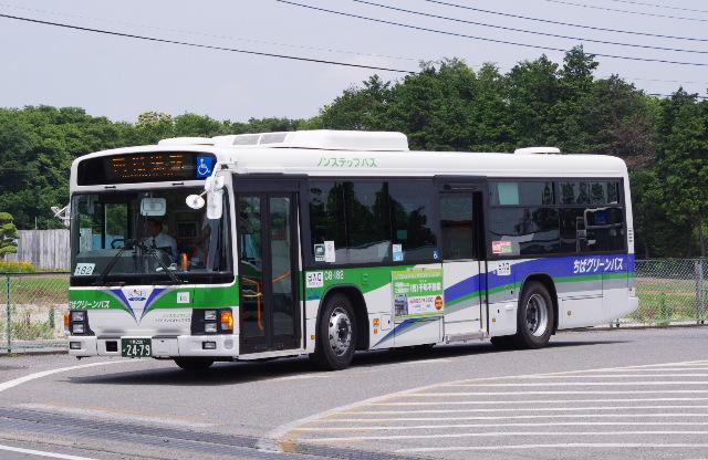 ちばグリーンバスの所屬車両 CG-182
