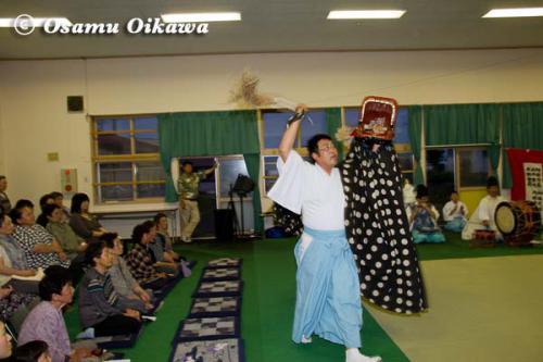 白符大神宮 宵宮祭 2012 松前神楽 十二の手獅子舞・五方