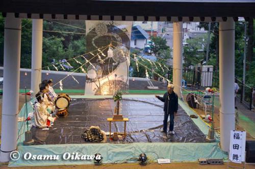 かがり火コンサート 2012 長谷川雅志挨拶