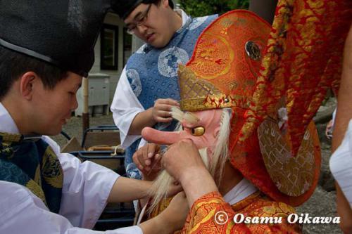 白符大神宮渡御祭 2012 猿田彦
