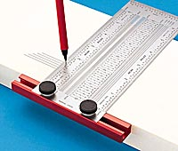 Additionally most wooden rulers have only relatively coarse fractions ...