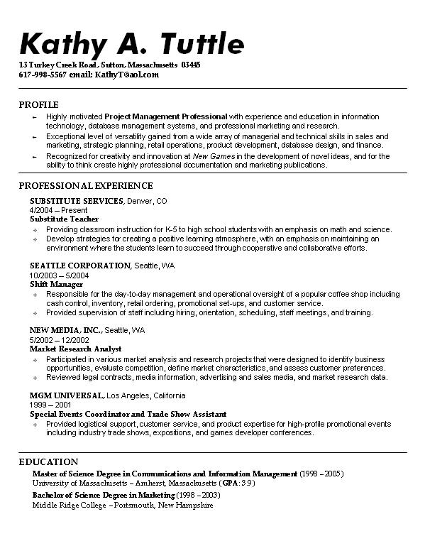 good resume model resume format builder resume career objective