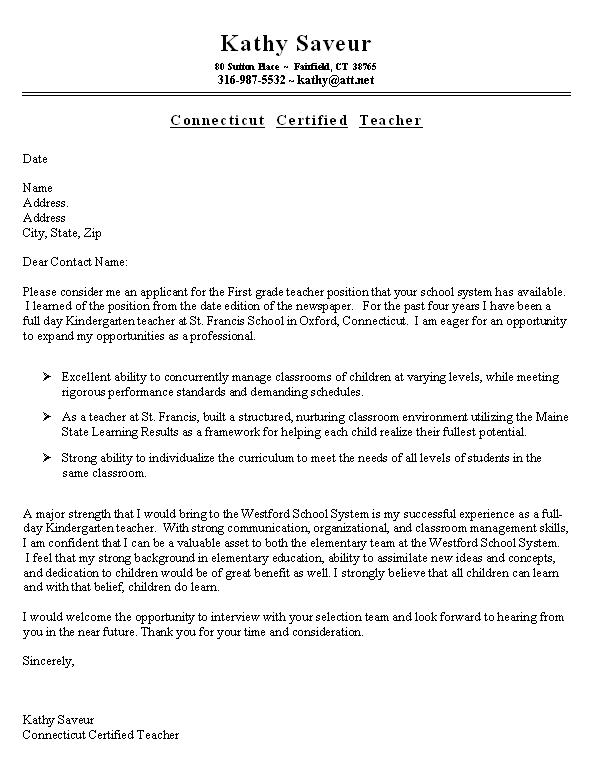cover letter for teaching position more than 500 cv resume examples