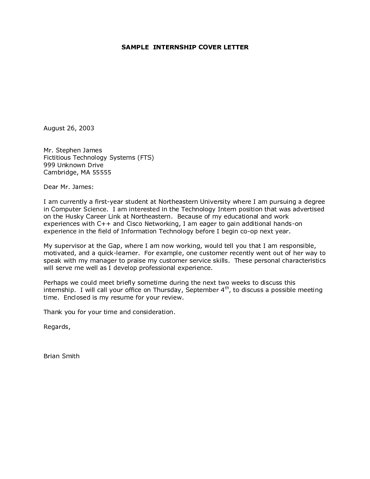 Best Of Sample Cover Letter for Internship Graphics