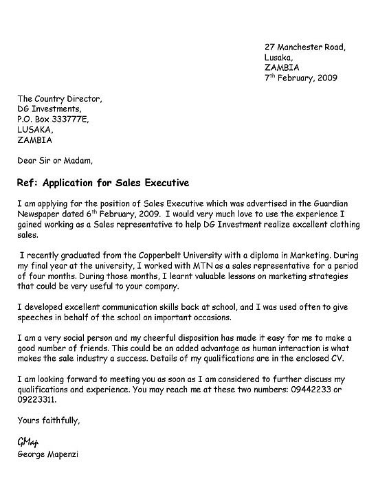 just basic cover letter examples for resume