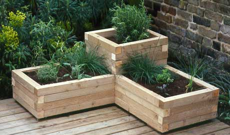 wood planter boxes woodworking plans