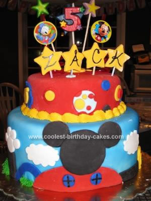 Cake Mickey Mouse Clubhouse Cake Decorations Mickey Mouse Birthday Party Ideas 4 Tips For Stress Free Party