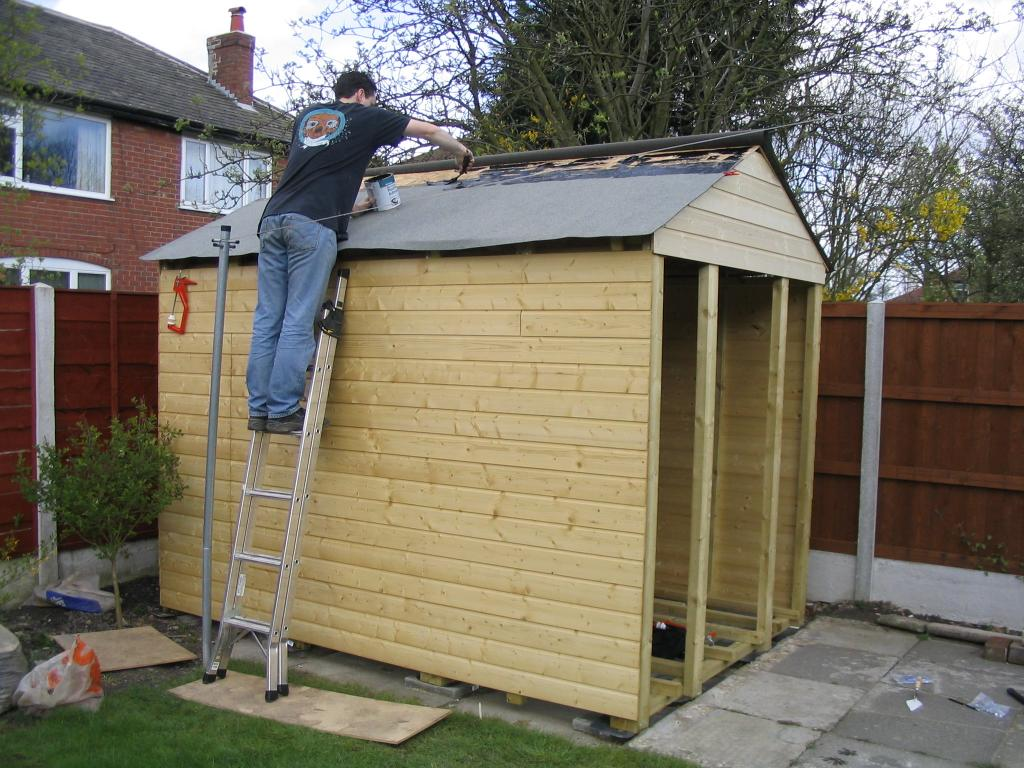 Flat Roof Shed Plans How To Build Diy Blueprints Pdf