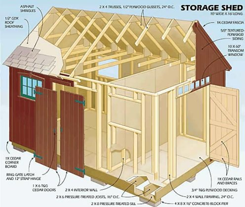Very easy option 10x20 shed plans pdf   longsun Blueprints pdf Download 12x16 12x24 8x10 8x8 10x20 10x12   Shed Plans